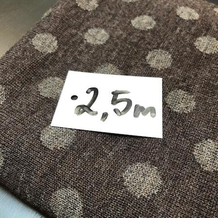 Ullstuv - 70 cm bredd grå / ljus grå