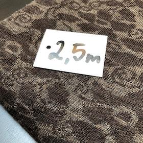 Ullstuv - 140 cm bredd mörkbrun / mullvad