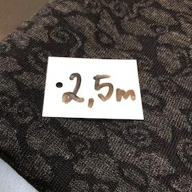 Ullstuv - 140 cm bredd svart grafit