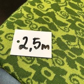 Ullstuv - 140 cm bredd ärtgrön / vårgrön