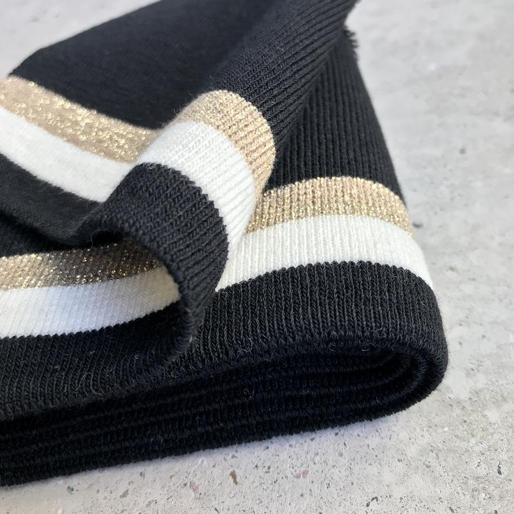 Muddremsa - svart/guld/vit