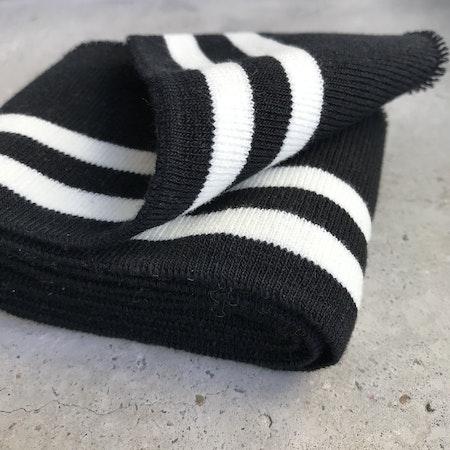 Muddremsa - svart/vit