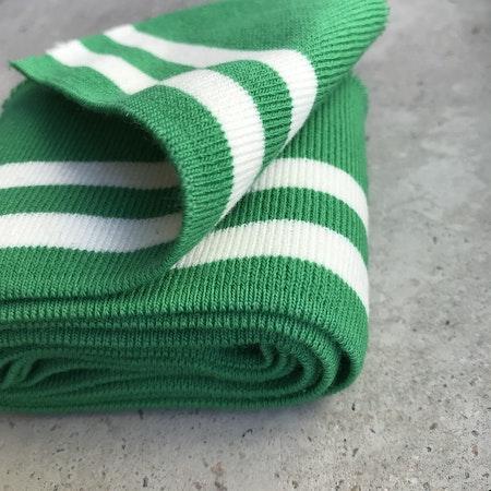 Muddremsa - grön/vit