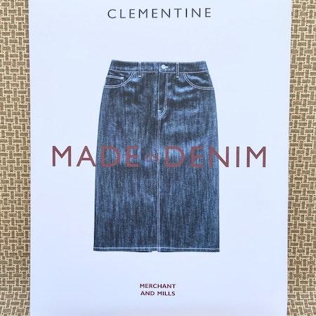 Clementine - jeanskjol