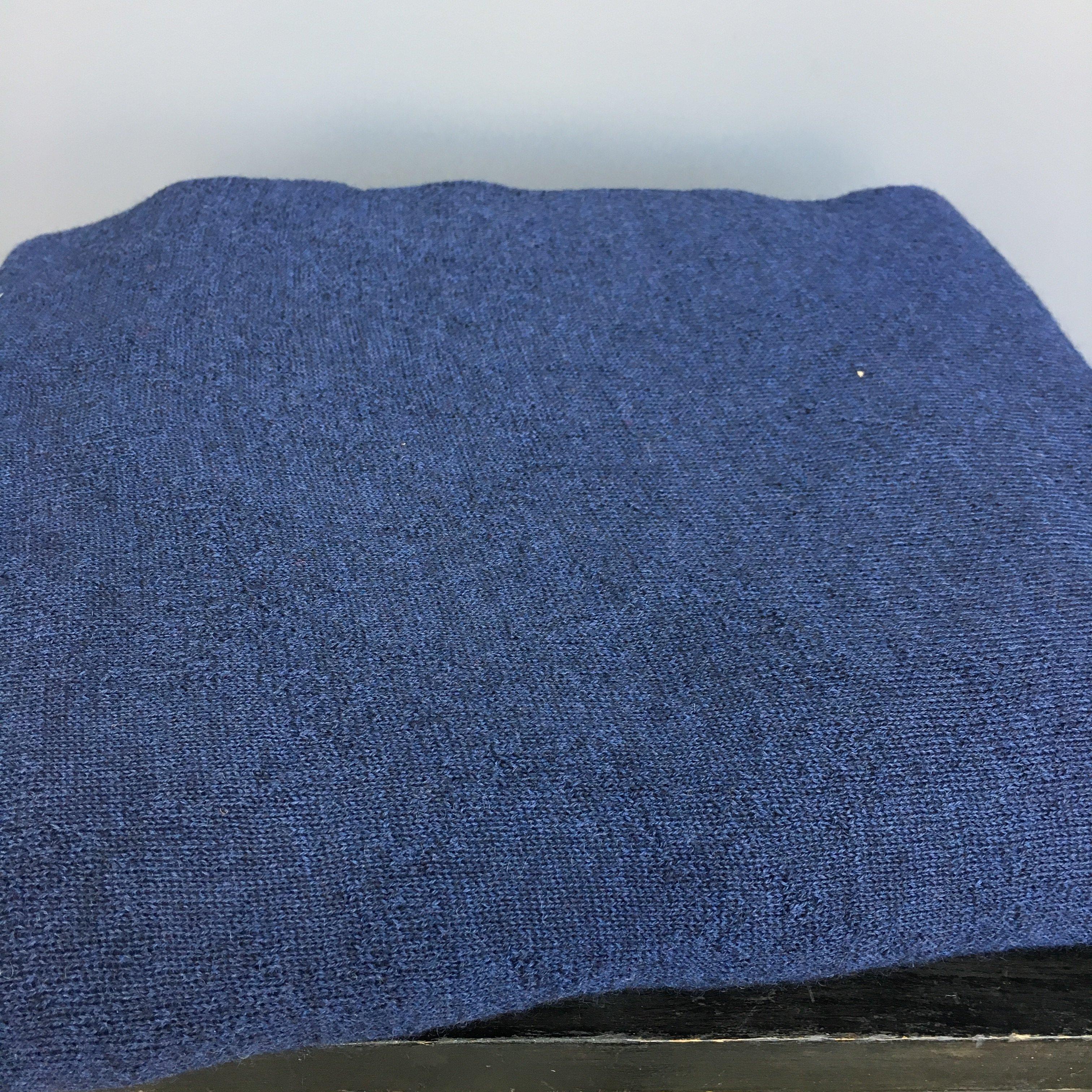 Ullstuv - Marinblå