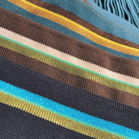 Muddremsa - marinblå/turkos