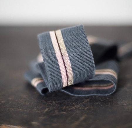 Muddremsa - grå/rosa