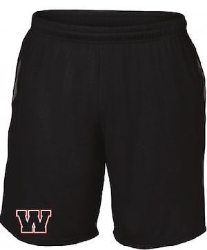 Nyhet! Svarta WW shorts med fickor