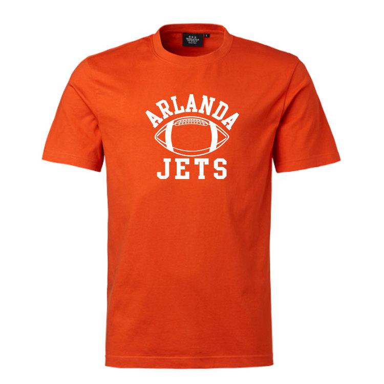 Nyhet! Orange t-shirt, boll logo