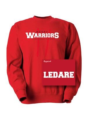College tröja, ledare
