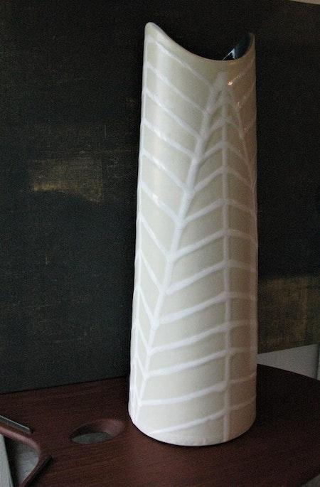 Fossil vase 4131