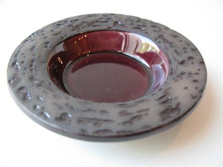 Red ashtray 6048B
