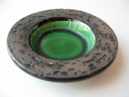 Green ashtray 6048B