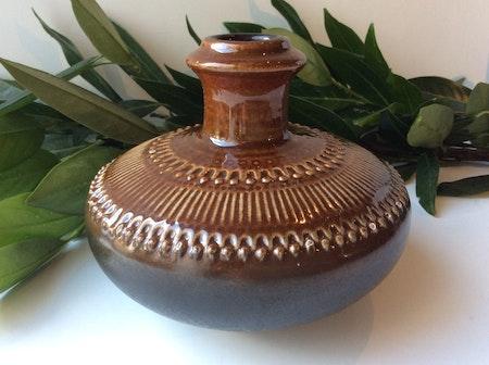 Brown Luna vase 8058M