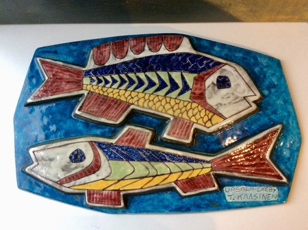 Fishes wall plate 6020