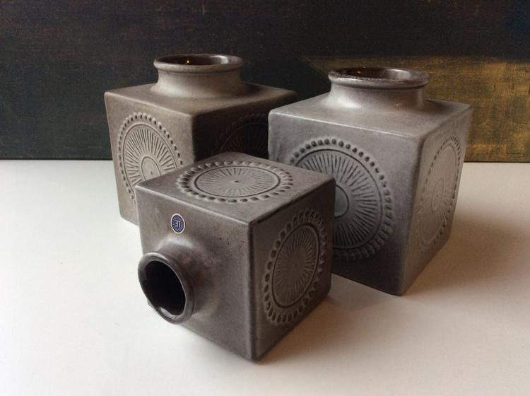 Göran Anderssons cube vases