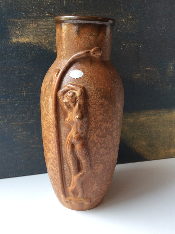 Brownish Art Deco vase 77