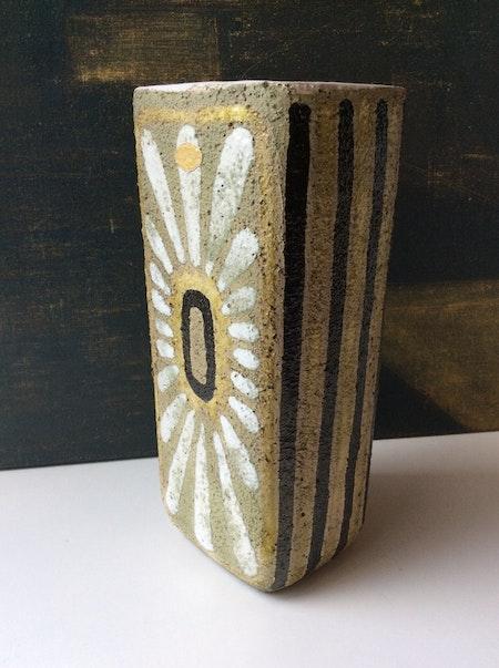 Green/yellow Angelina vase 4429