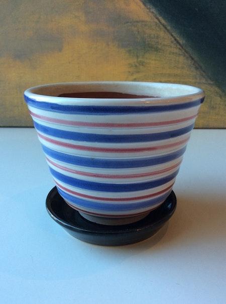 Tricolor flower pot