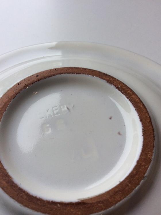 White ashtray 66