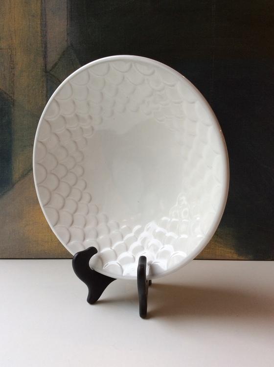 White bowl 312