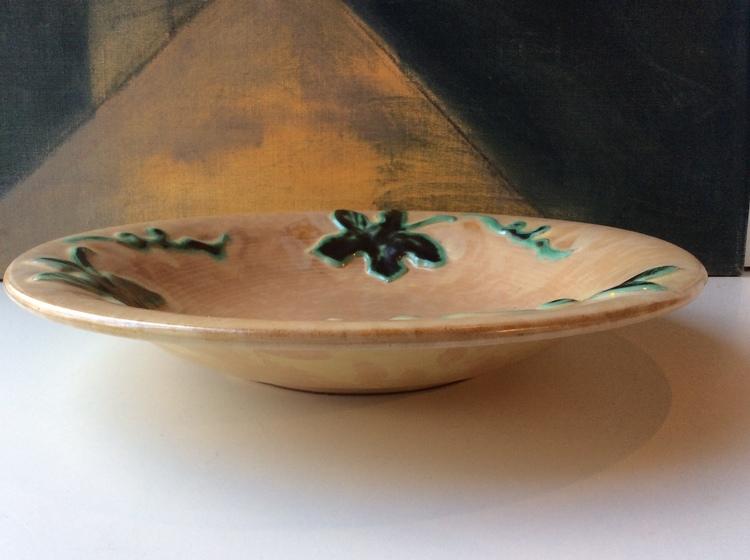 Yellow/green bowl 70