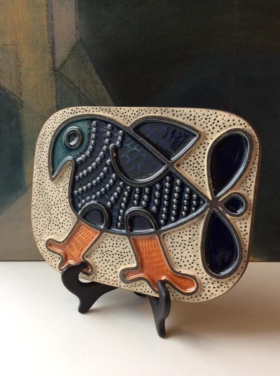 Wall plate Bird 8016M