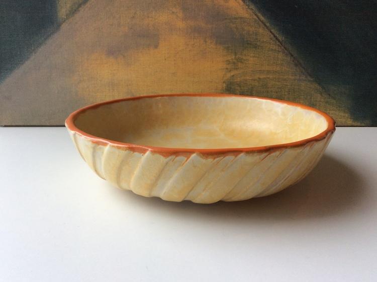 Yellowish bowl 3228B