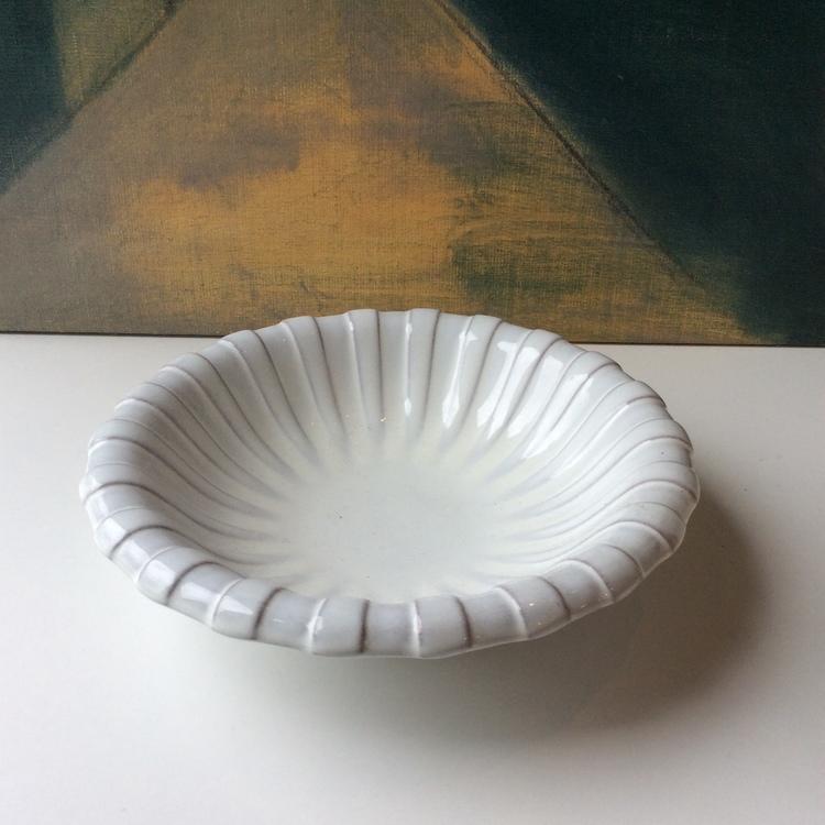 White bowl 221