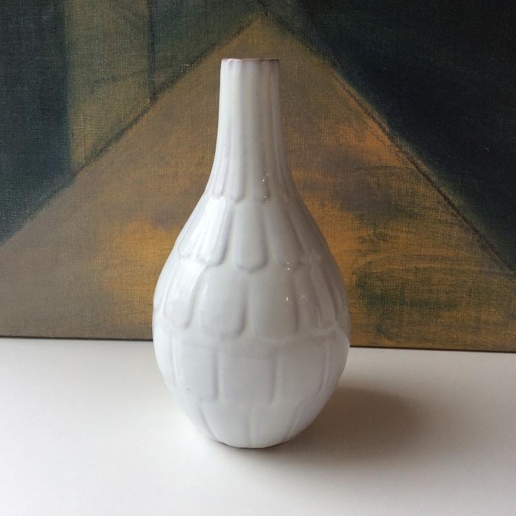White vase 646