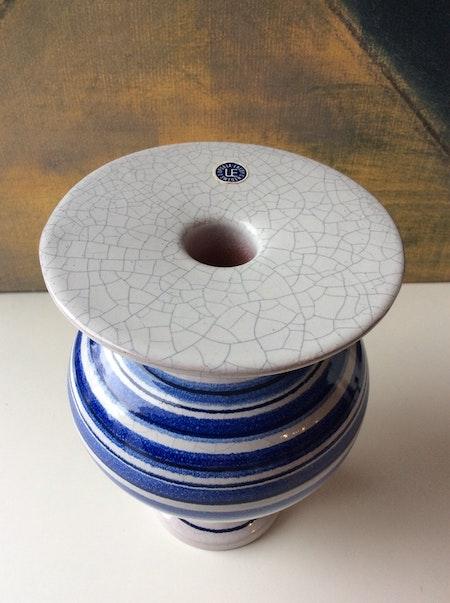 UE candlestick blue/white