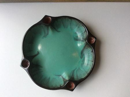 Green/black advent bowl 2675