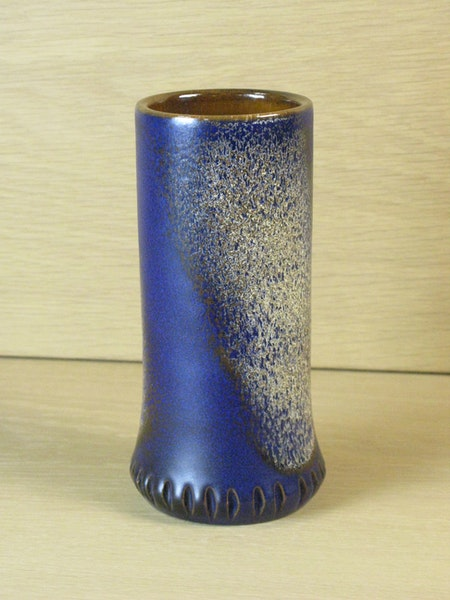Blueish vase 2017
