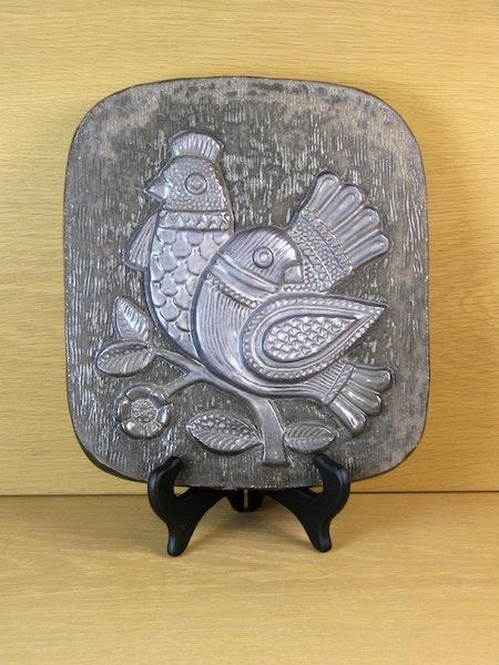 bird wall plate 1096y