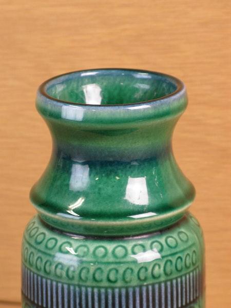 green/blue vase 134110/2