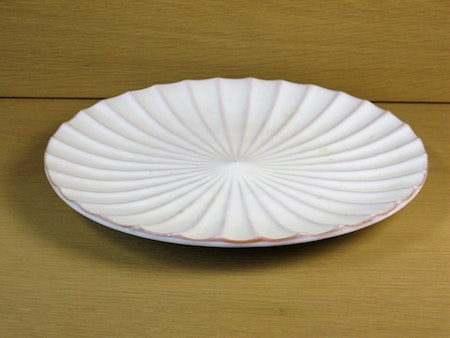 white fruit plate 35