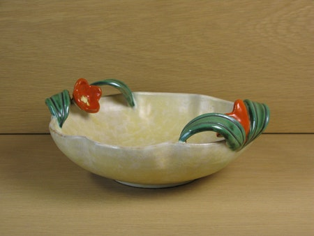 Red flower bowl 99
