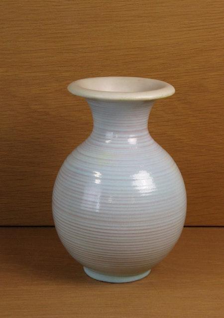mint green vase 373