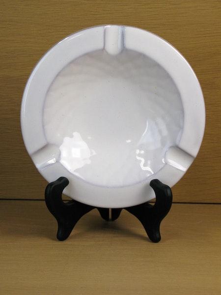 white ashtray 93