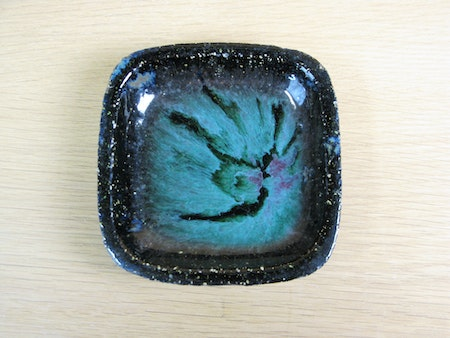 greenish ashtray 4111