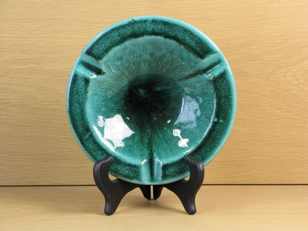 green ashtray 93