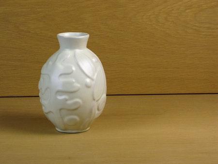 white vase 205