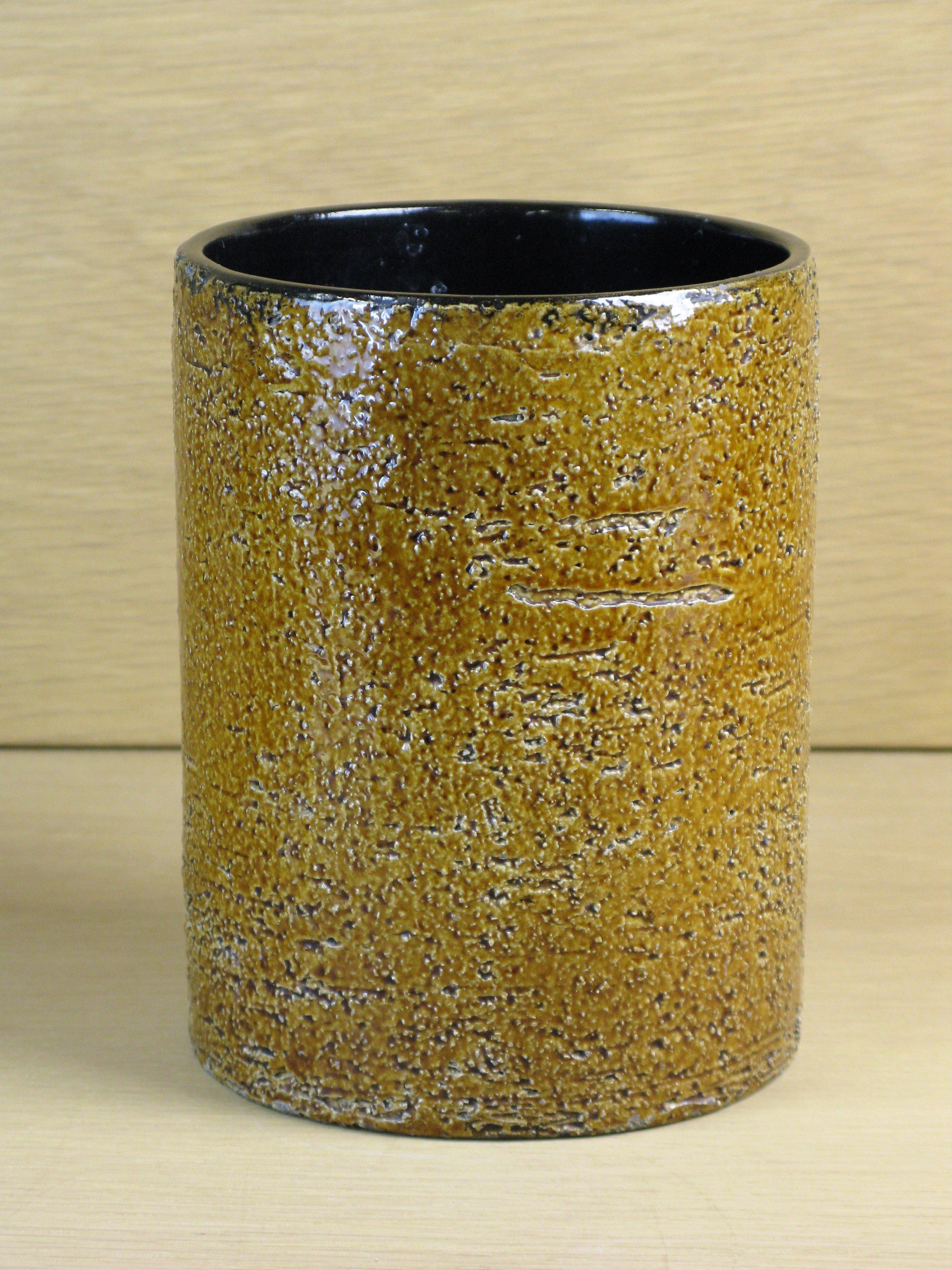 Brown vase 1034/204