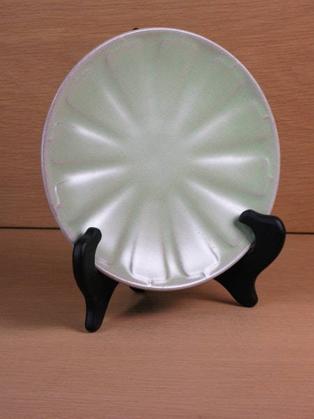 capri lightgreen small plate 24