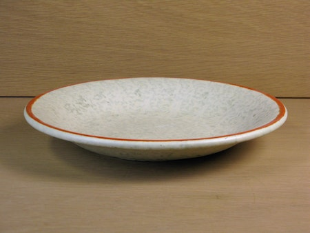 greyish/orange bowl 2