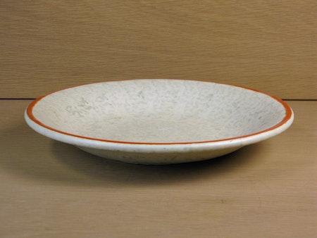 greyish/orange bowl 2