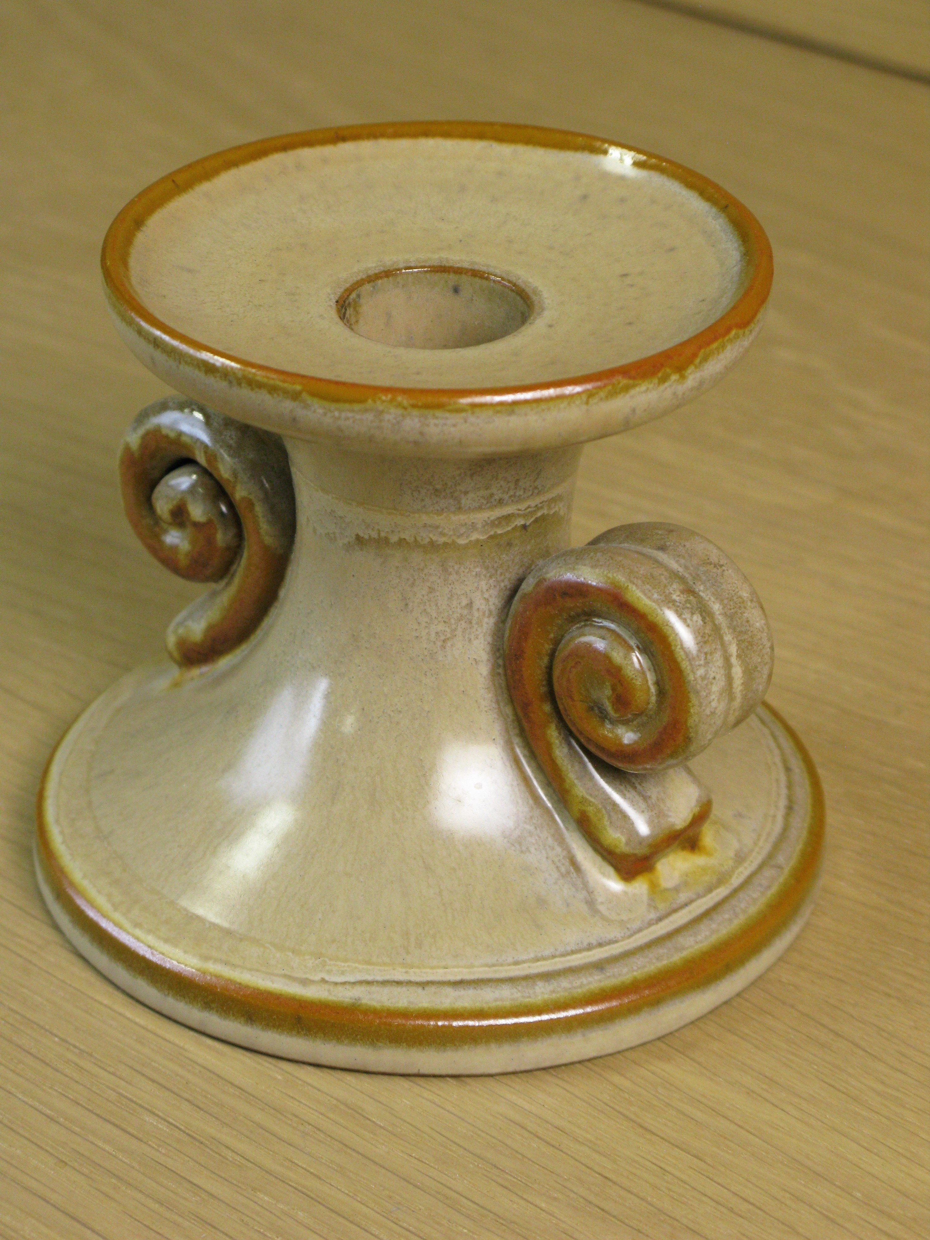 brownish candlestick