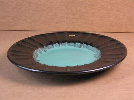 black/green fruit plate 2355
