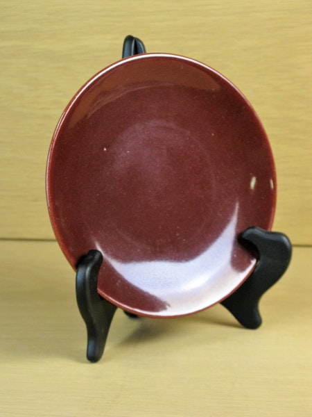burgundy small plate 1