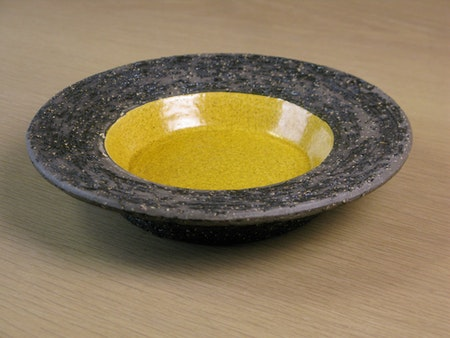 yellow ashtray 4069b